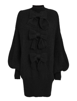 Resistance Batwing Sleeve Sweater Dress by Zimmermann