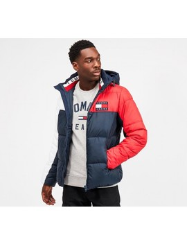 Essential Colourblock Puffer Jacket   Black Iris / Multi by Tommy Jeans