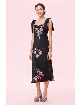Noha Floral Tank Dress by Rebecca Taylor