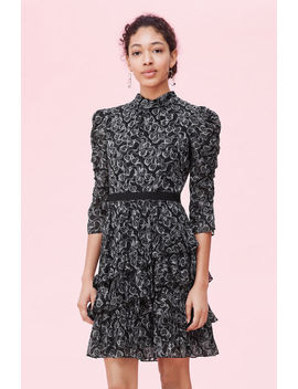 Celia Lace Clip Dress by Rebecca Taylor