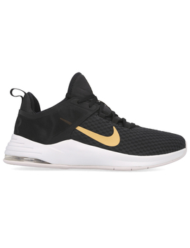Nike Women's Air Max Bella Training Sports Shoes   Black/Metallic Gold Vast Grey by Nike