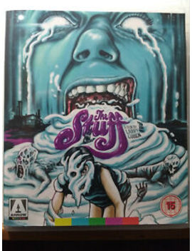 The Stuff Special Edition  Blu Ray/ Dvd Horror Movie 1985 Larry Cohen by Arrow Video