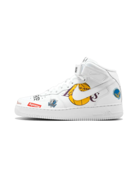 "Air Force 1 Mid 07 / Supreme                                                ""Nba"" by Nike"