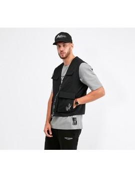 Bello Utility Vest   Black by Métissier Paris