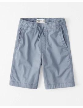 Twill Pull On Shorts by Abercrombie & Fitch