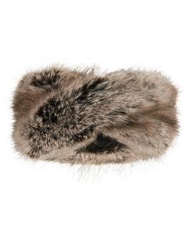 Luxe Faux Fur Bando by Accessorize