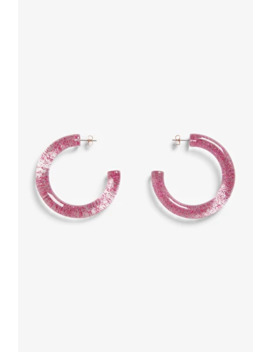 Chunky Plastic Hoops by Monki