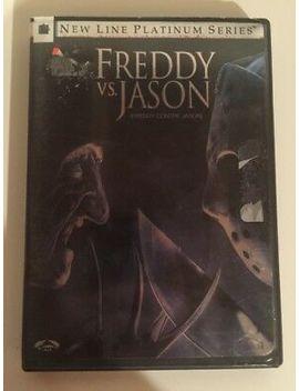 Freddy Vs. Jason (Dvd, 2004, Platinum Series) Free Shipping In Canada! by Ebay Seller