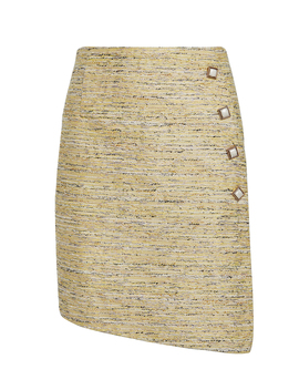 Born To Find You Tweed Skirt by AtoÌr
