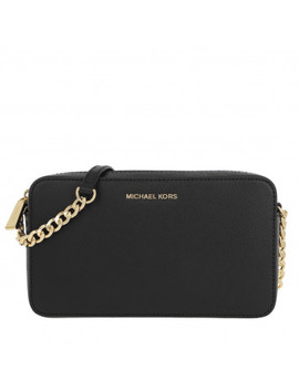 Medium Ew Crossbody Bag Black by Michael Kors