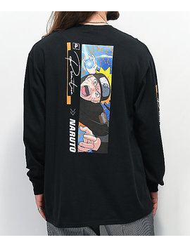 Primitive X Naruto Combat Black Long Sleeve T Shirt by Zumiez