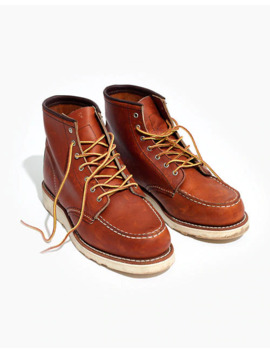 Red Wing® 6 Inch Moc Lace Up Boots by Madewell