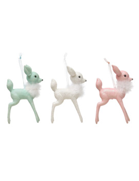 Assorted Deer Plastic Ornament By Ashland® by Ashland