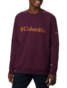 Logo Cotton Blend Sweatshirt by Columbia