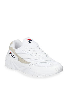 Fila V94 M Colorblock Leather Runner Sneakers by Fila