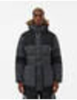 V Stok Parka In Asphalt Grey by The North Face Black Box The North Face Black Box