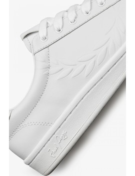 B721 Embossed Leather by Fred Perry