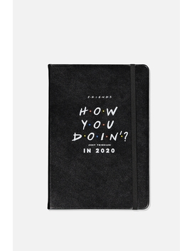 2020 A5 Friends Weekly Buffalo Diary by Cotton On