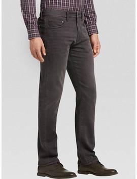 Joseph Abboud Nocturne Gray Slim Fit Knit Jean by Joseph Abboud