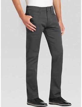 Joe Joseph Abboud Charcoal Slim Fit Jeans by Joe Joseph Abboud