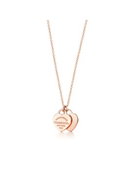 Return To Tiffany®        Double Heart Pendant by Return To Tiffany®