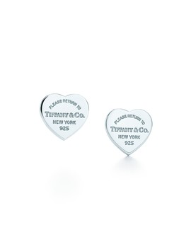 Return To Tiffany®        Mini Heart Tag Earrings by Return To Tiffany®