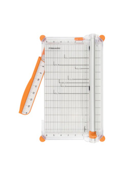Fiskars® Deluxe Paper Trimmer With Aluminum Cut Rail by Fiskars