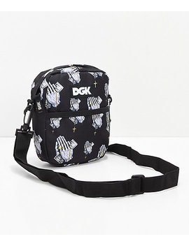 Dgk Blessed Black Shoulder Bag by Zumiez