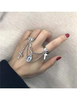 Cross Chain Ring by Dog Dog