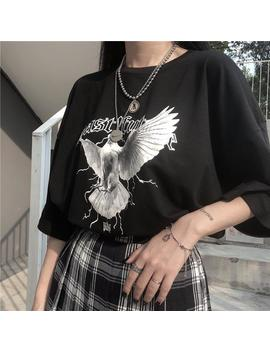 Peace Dove Letter Print Tee by Dog Dog