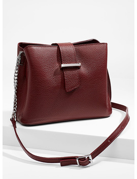 Structured Shoulder Bag by Simons