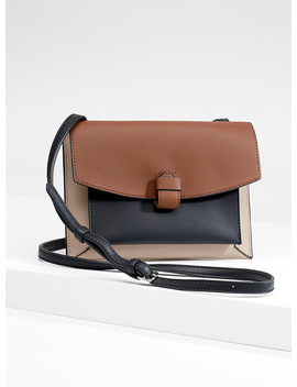 Tricolour Envelope Bag by Simons