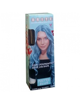 Organix Semi Permanent Hair Colour   Pastel Blue 75 M L by Brite Organix