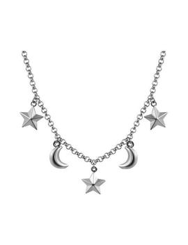Sun & Moon Necklace by Boogzel Apparel