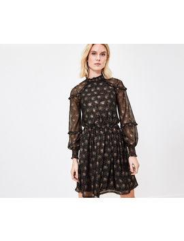 Foil Burst Blouse Dress by Oasis