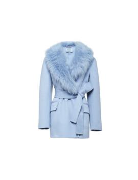 Double Cashgora Caban Jacket by Prada