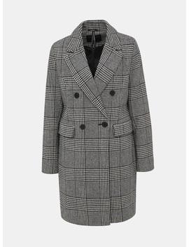 Šedý Vzorovaný Kabát Dorothy Perkins by Dorothy Perkins