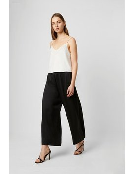 Alessia Satin Wide Leg Culottes by French Connection