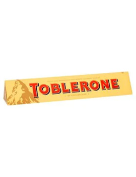 Toblerone Swiss Milk Chocolate With Honey And Almond 360g by Superdrug
