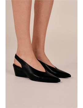 Aim Leather Slingback by Bnkr