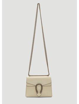 Dionysus Shoulder Bag In Beige by Gucci