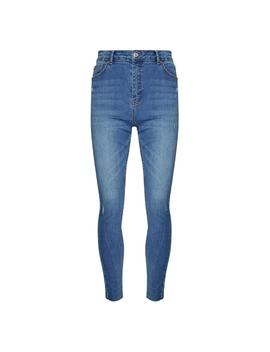Mid Blue High Waisted Skinny Jeans by Primark