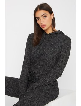 Super Soft Cropped Hoodie by Urban Planet