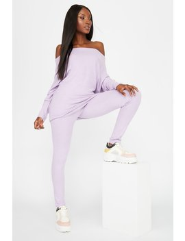 Brushed Pull On Legging by Urban Planet