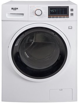 Bush Wdnbx107 W 10 Kg / 7 Kg 1600 Spin Washer Dryer   White910/4770 by Argos