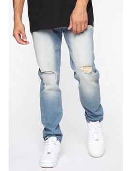 West Coast Skinny Jean   Vintage Blue Wash by Fashion Nova