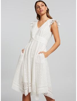 Dream Scene Broderie Dress by Portmans