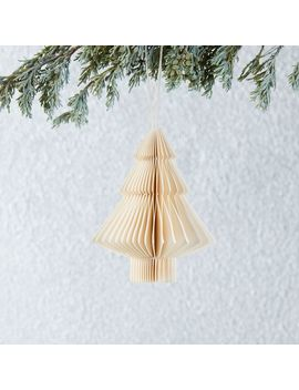 Paper Tree Ornament by West Elm