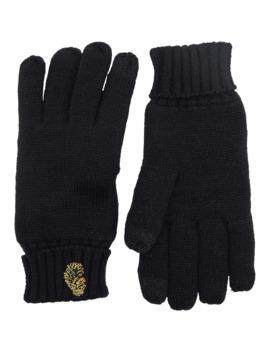 Luke 1977 Mens Denaali Touch Screen Knit Gloves Black by Luke 1977