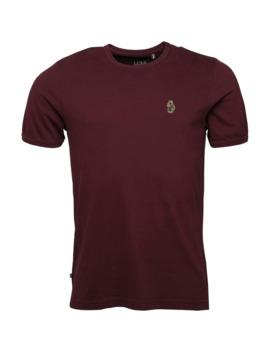 Luke 1977 Mens Trouser Snake T Shirt Burgundy by Luke 1977